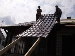 Ремонт и Монтаж крыши из металлочерепицы