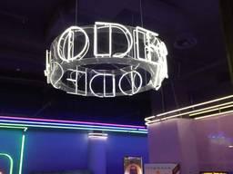 Ремонт и замена осветительных элементов в рекламной конструк
