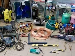 Запчасти для кондиционера, инструменты и материалы для Ремонта Монтажа Чистки кондиционеро