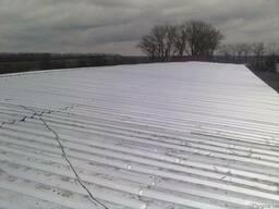 Ремонт крыш на ангарах, зернохранилищах - фото 4