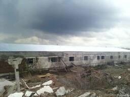 Ремонт крыш на ангарах, зернохранилищах - фото 5