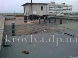 Ремонт крыши многоквартирных домов, еврорубероид. Гарантия!