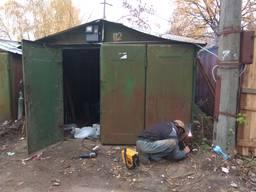 Ремонт металлического гаража Киев