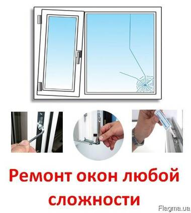 Ремонт окна ПВХ в Киеве. Замена уплотнителя и стеклопакетов.