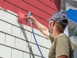 Малярные работы покраска побелка стен и потолков недорого