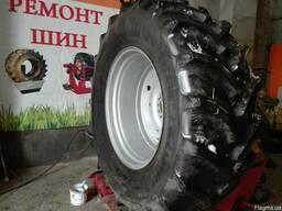 Ремонт тракторных шин