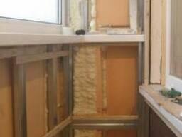 Ремонт и утепление балконов и лоджий.