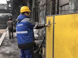 Сервис и ремонт винтового компрессора и винтового блока