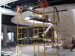 Монтаж подвесного потолка, грильято, армстронг, ламельный по