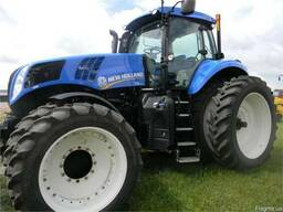 Реомнт запчастей трактора New Holland T8.360