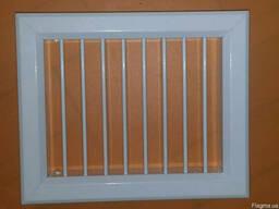 Решетка алюминиевая вентиляционная 140х180