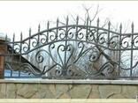 Решетка, дверь, забор, ворота, козырек, ляда, навес - фото 4