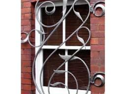 Решетка кованная на окна №11