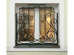 Решетка кованная на окна №B7