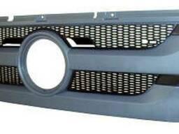 Решетка радиатора с сеткой черный пластик Mercedes