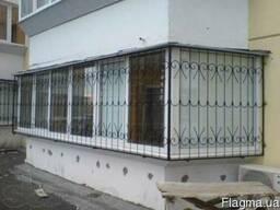 Решетки на балкон,лоджии Борисполь