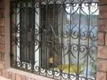 Решетки на окна. - фото 1