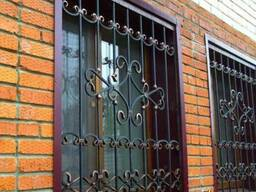 Решетки на окна, сварные решетки, кованные решетки на окна,