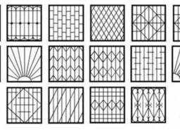 Решетки на окна, балконы Запорожья.