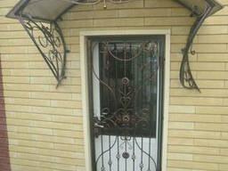 Решетки на окна и двери. Ставни