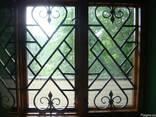 Решетки на окна кованые. грати на вікна. Решітки. - фото 3