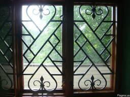 Решетки на окна кованые - фото 3