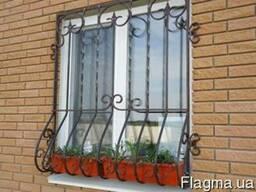 Решетки на окна и двери. Кованые ворота, калитки, заборы.