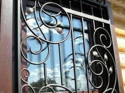 Решетки на окна, ковка
