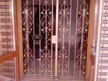 Решетки на окна,решетчатые двери. - фото 3