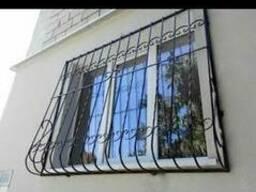 Решетки на окна, решётчатые двери - фото 4