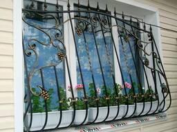 Решетки на окна. Сварные и кованые. Качественно с гарантией