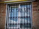Решетки на окна. Сварные и кованные металлические конструкции - фото 4