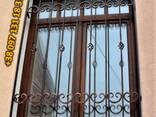 Решетки на окна. Сварные и кованные металлические конструкции - фото 3
