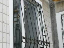 """Решетки на окна вид """" Капля"""""""