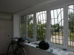 """Решетки на окна, ограждения """"Броневик"""" Днепр."""