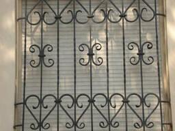 Решетки на окна и балконы в Запорожье