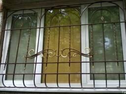 Решетки на окна, Кованые решетки на окна,