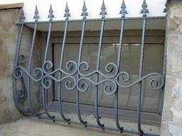 Решетки, ставни, кованые в Кривом Роге