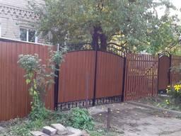 Решетки сварные кованые на окна заборы, ворота