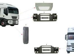 Решетка радиатора, Передняя панель, бампер Iveco