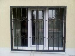 Решётки на двери и окна,изготовление ковки и металлоизделий