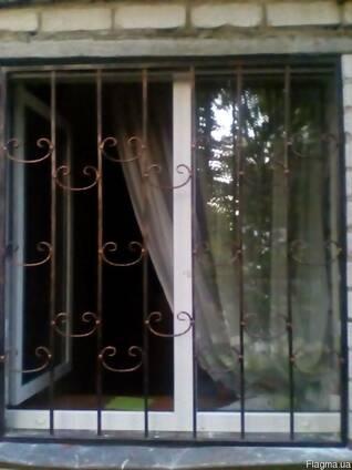 Решётки на двери и окна, изготовление ковки и металлоизделий