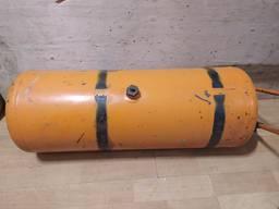Ресивер воздушный MAN F2000 (Comandor) 81514010212, 83514016502, размер 24,6 на 72,5 см