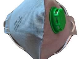 Респиратор БУК-3К, с клапаном FFP3