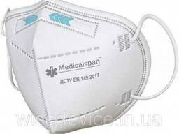 Респиратор FFP2 для лица Medicalspan (MSP-R-FFP2)