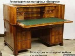 Реставрация антикварной мебели. Харьков