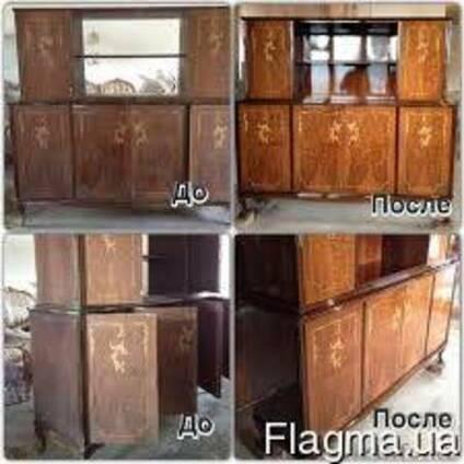 Реставрация, ремонт мебели, столов, шкафов, комодов, дверей,