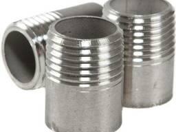 Резьба короткая нержавеющая сталь AISI 304 (08Х18Н10)