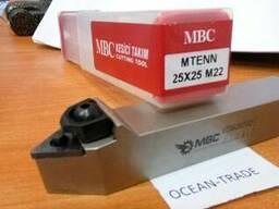 Резец проходной MTENN-25x25-M22 MBC