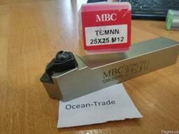 Резец проходной с мех. креплением т/с пластин TCMNN-25x25M12